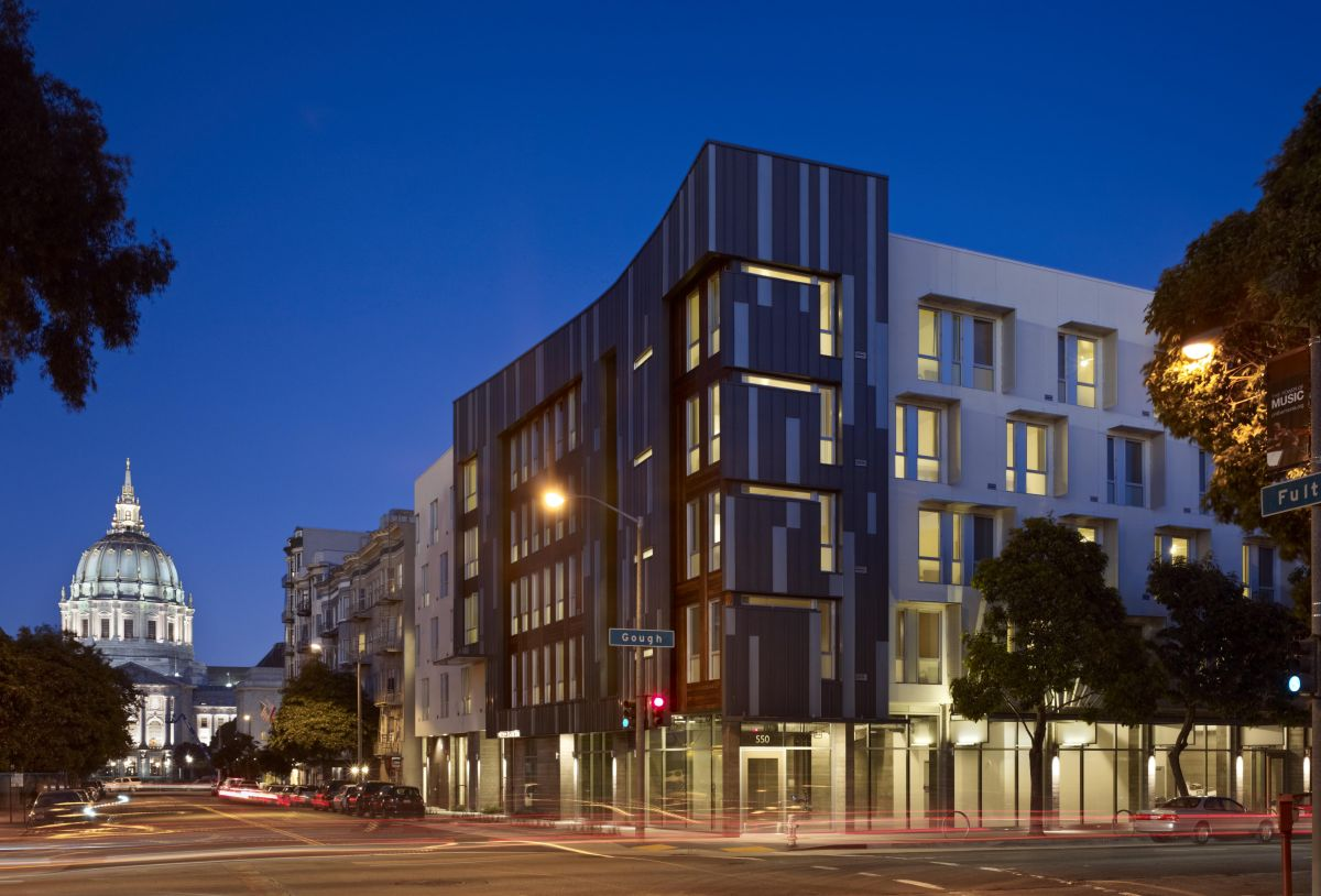 Richardson Apartments. Image: David Baker Architects/Bruce Damonte