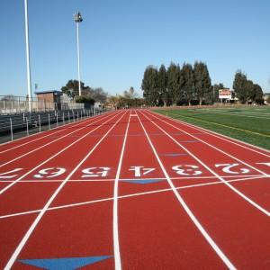 How Long Is A Football Pitch >> Richmond High School Track & Field - Baker Vilar Architects